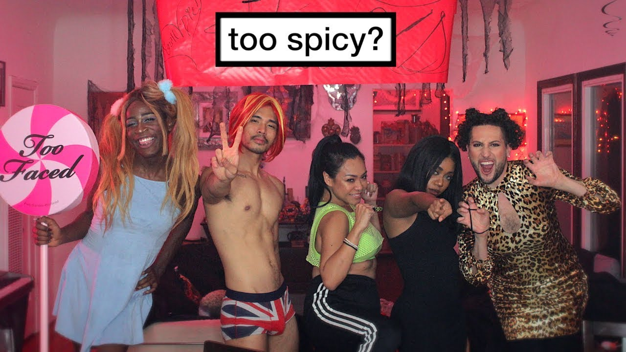 We Dressed Up As The Spice Girls For Halloween Youtube
