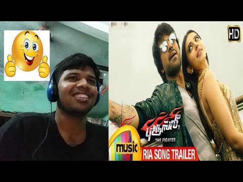Ria Full Video-Bruce Lee The Fighter|Ram Charan & Rakul Preet Singh|Reaction(GREAT)