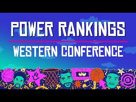 NBA Previewpalooza | Western Conference Power Rankings