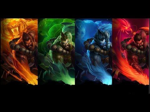 Sated Devourer Spirit Guard Udyr! - League of Legends Gameplay