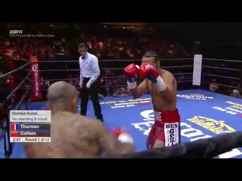 FULL FIGHT: Keith Thurman vs Luis Collazo - 7/11/2015 - PBC on ESPN