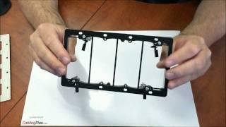 Arlington LV4 Low Voltage Mounting Bracket  | Product Information