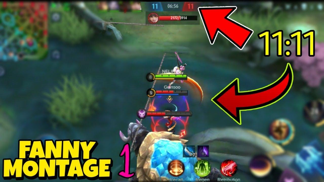 ⚠️ 11:11 FANNY MONTAGE #1 | Mobile Legends | Play M3