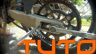 Nettoyer, graisser, tendre chaine moto/vélo [TUTO]