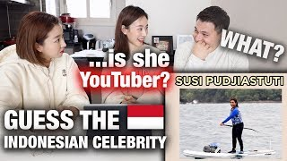 Download lagu Susi Pudjiastuti Is A YouTuber? | FOREIGNERS GUESS FAMOUS INDONESIAN FEMALES!