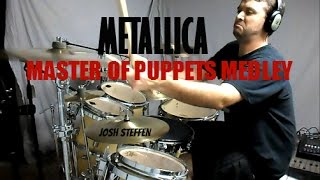 METALLICA - PUPPETS MEDLEY (mobile link in description) - Drum Cover