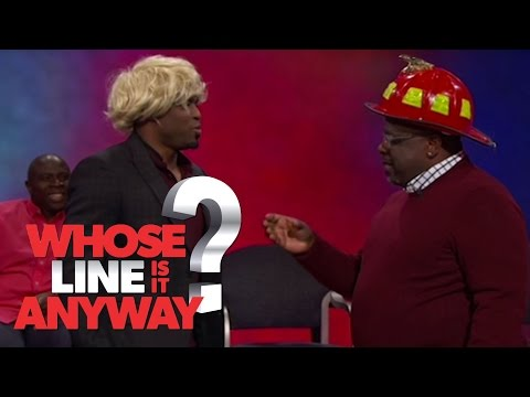 Questions With Cedric The Entertainer - Whose Line Is It Anyway? US