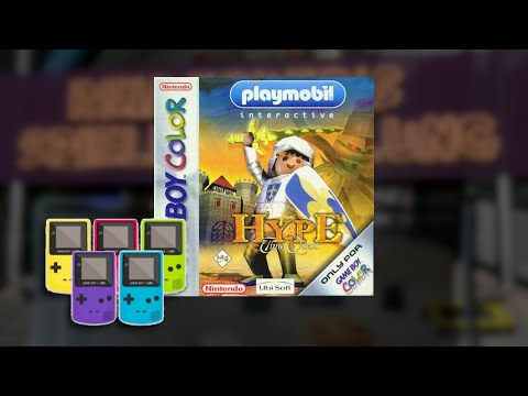 Gameplay : Playmobil: Hype the Time Quest [Gameboy Color]