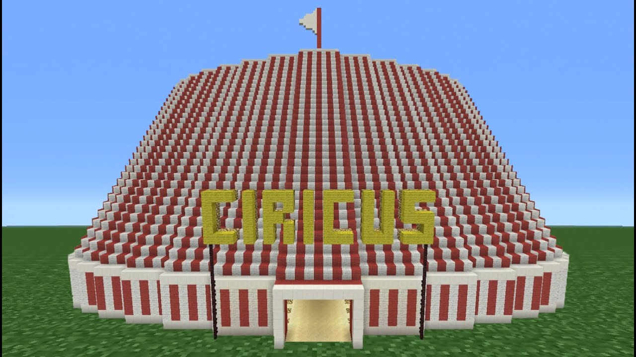 sc 1 st  YouTube & Minecraft Tutorial: How To Make A Circus (Including Inside) - YouTube