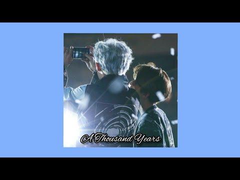 chanbaek ; a thousand years