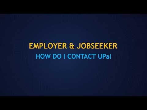 Employer & Job-Seeker: How do I Contact UPal