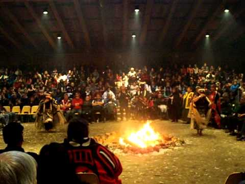 Pewi Dancing at Wa's Potlatch- October 2011