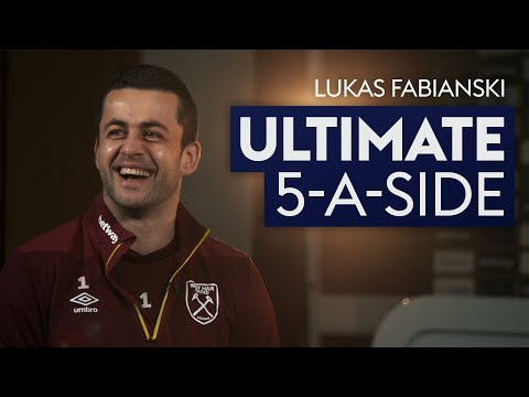 Lord Bendtner gets snubbed! | Lukasz Fabianski | Ultimate 5-A-Side