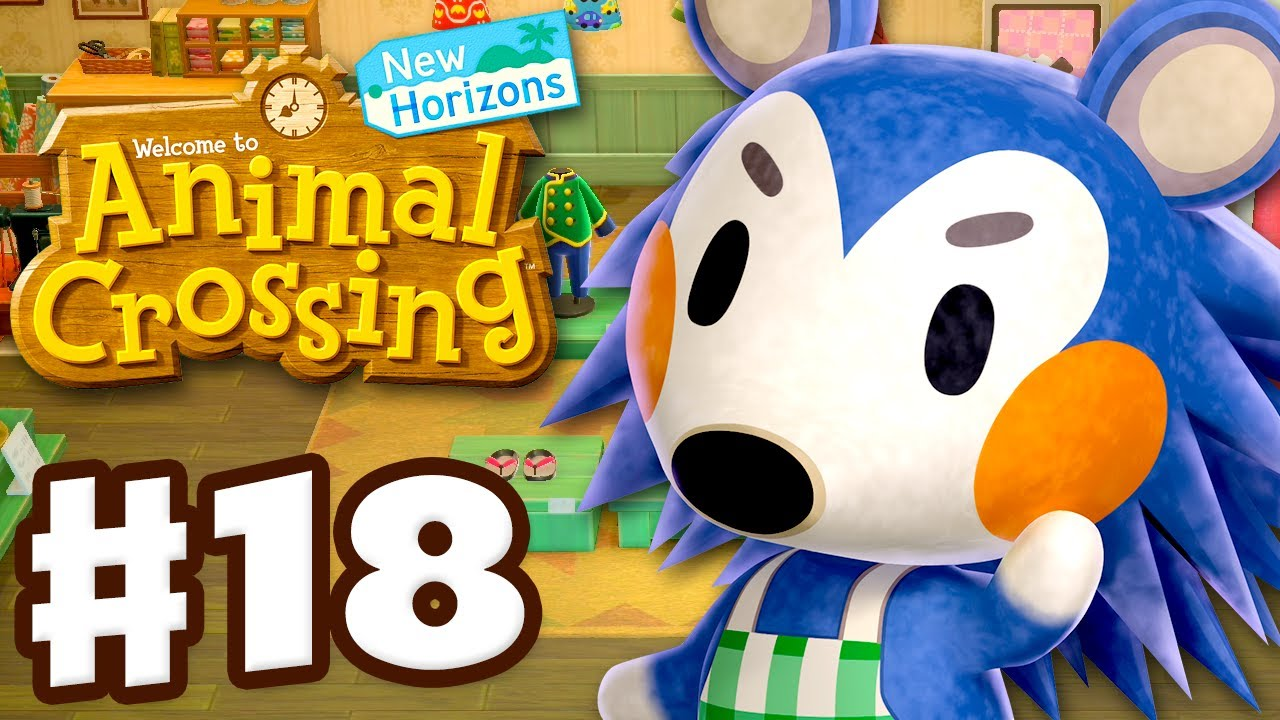 Able Sisters Shop! - Animal Crossing: New Horizons - Gameplay Walkthrough Part 18