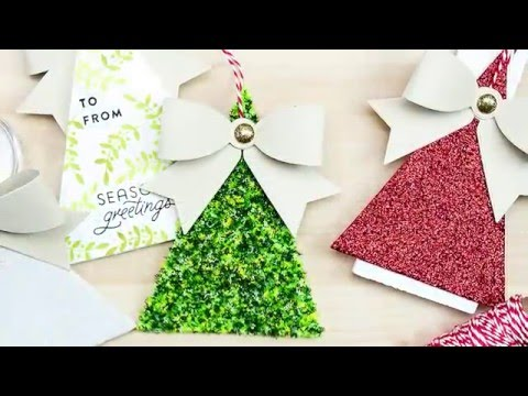 DIY Gift Tags and Holiday Ornaments
