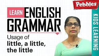 Learn English Grammar | Usage of little, a little, the little | Determiner | Basic English Grammar