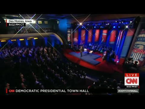 Fourth Democratic Primary Town Hall - January 25 2016 on CNN