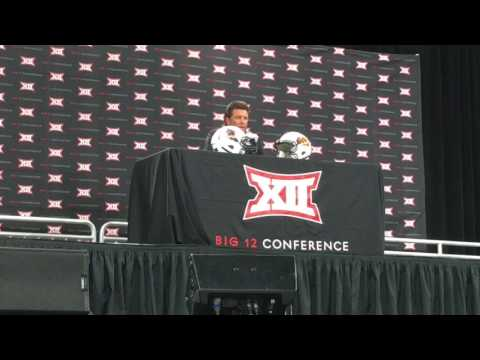 Mike Gundy 2017 Big 12 Press Conference