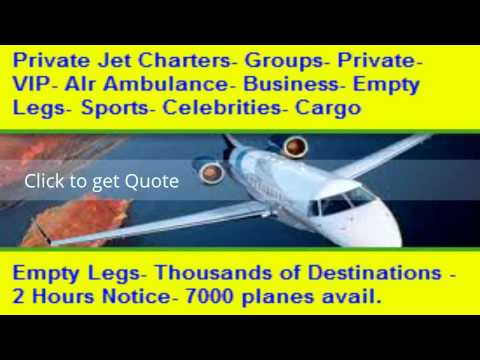 Private Jet Charter Empty Leg
