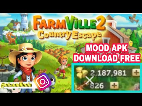 GAME MOD - BAGI BAGI LINK DOWNLOAD GAME FARMVILLE 2 COUNTRY ESCAPE MOD APK DOWNLOAD FREE FOR ANDROID