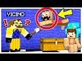 IL VICINO CI HA TROVATO NELLA SUA BASE SEGRETA! - Minecraft ITA