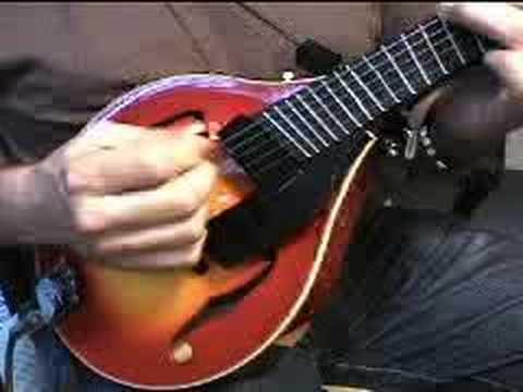 Mandolin 5 string mandolin chords : Gibson 5 string jazz mandolin with fanned frets 2 - YouTube