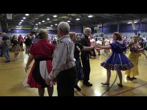 015 Fiesta Square Dance Festival (Dan Nordbye and Bronc Wise) Balboa Park, San Diego Nov 05 2016