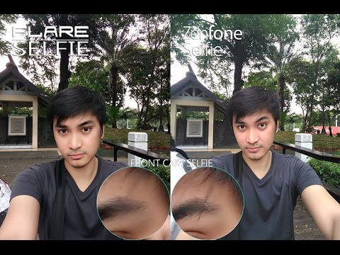 Cherry Mobile Flare Selfie VS Zenfone Selfie Comparison, Camera Review!