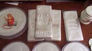 Full Collection Offshore Gold Silver Coin and bar collection