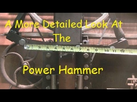 Blacksmithing Power Hammer Q&A