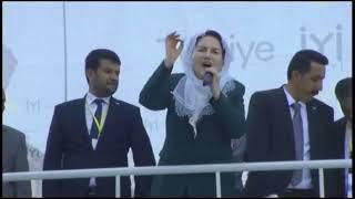 İYİ Parti Genel Başkanı Meral Akşener, Batman'da konuştu