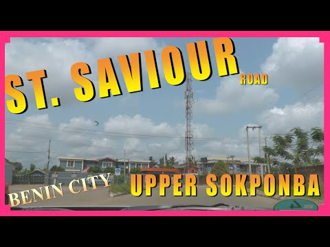 A ROAD DRIVE  THROUGH ST.  SAVIOUR PART 2, AT UPPER SOKPONBA. BENIN CITY NIGERIA.