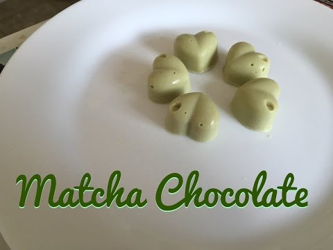 Matcha Green Tea Chocolate | 抹茶朱古力 (抹茶巧克力)