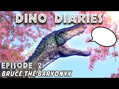 Dino Diaries: Bruce the Baryonyx  |  If Dinosaurs in Jurassic World Evolution Could Talk