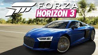Forza Horizon 3- Audi R8 V10