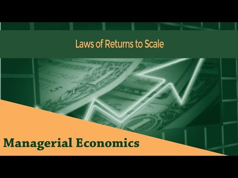 Laws of Returns to Scale | Increasing Returns to Scale | Decreasing Returns to Scale