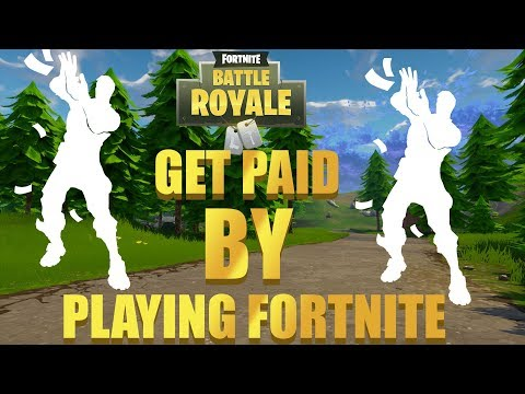 How To Get PAID MONEY Playing Fortnite!* (NOT CLICKBAIT)*