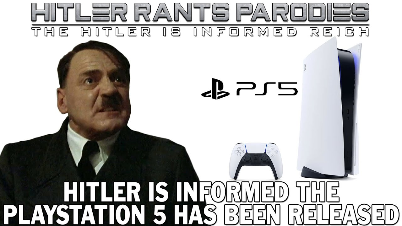Hitler is informed the PlayStation 5 has been released