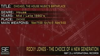 Rocky Jones - The Choice Of A New Generation (D.J. International Records | 1987)