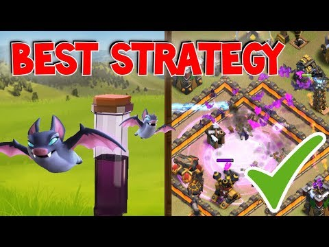 Right Way And Wrong Way To Deploy The Bat Spell | Clash Of Clans