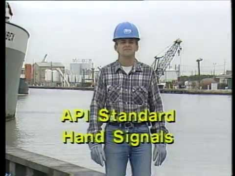 Hand Signals for Offshore Cranes