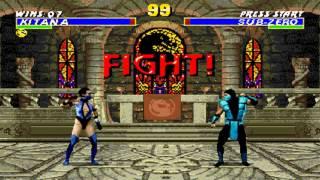 Ultimate Mortal Kombat 3 Kitana