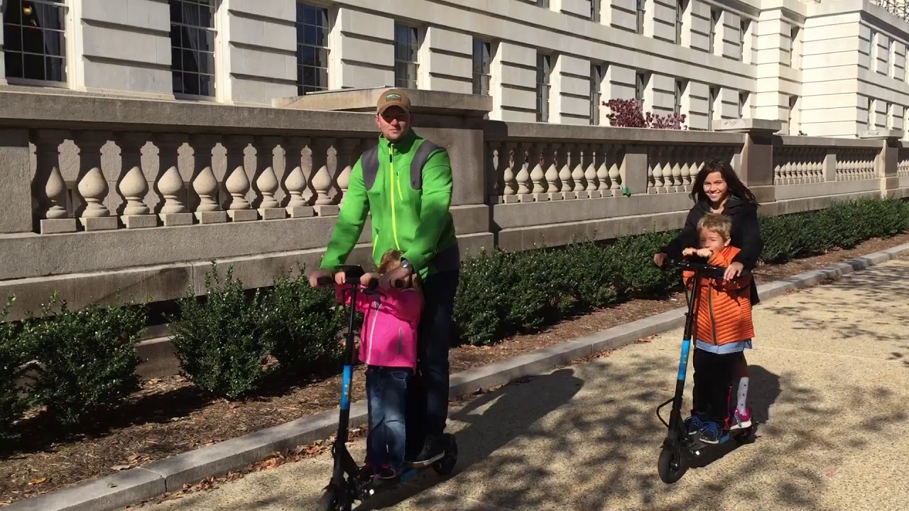 Washington DC by Scooter | The UnderToad
