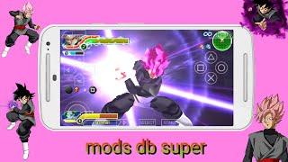 Dbz shin budokai 2 y tenkaichi tag team PPSSPP mods db super
