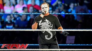 Sting assesses Seth Rollins' reign as WWE World Heavyweight Champion: Raw, Aug. 31, 2015