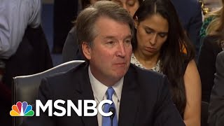 GOP Slots Committee Vote On Brett Kavanaugh Before Hearing From His Accuser | The 11th Hour | MSNBC