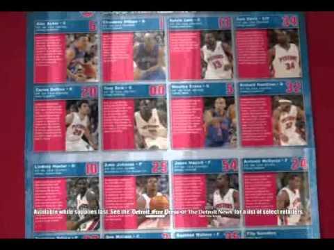 Detroit Pistons 2006 Medallion Collection