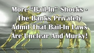 "Adams/North: More ""Bail-In"" Shocks - Laws Are Unclear And Murky!"