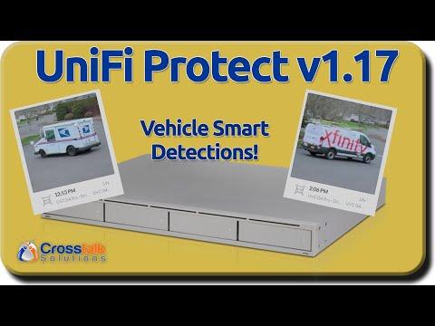 UniFi Protect v1.17 - Automobile Smart Detection!