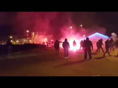 Lyon (jobbra) vs AS Roma (balra) 2017.03.09.